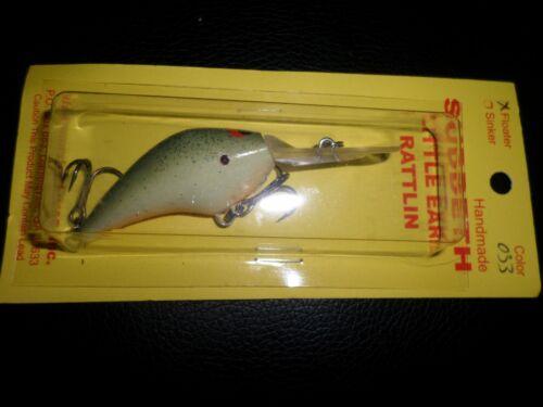 Suddeth Little Earl Rattlin Handmade Crankbait Fishing Lure