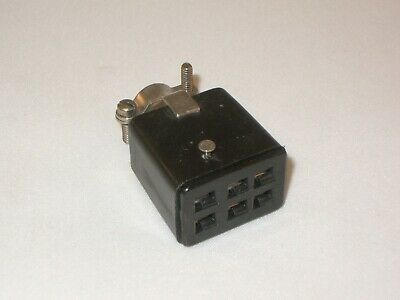 6 Pin Female Socket Connector -- Cinch Jones S306-cct  Beau Molex 38331-8006