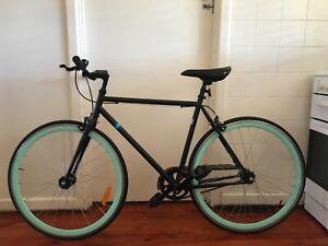 Fixie bike, single speed