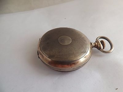 an antique silver - 800- hunter pocket watch
