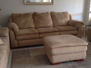 Tripoli 3 seater lounge and Ottoman. Will sell separate. Runaway Bay Gold Coast North Preview