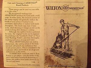 Antique Wilton Armetale Dish Set Cambridge Kitchener Area image 4