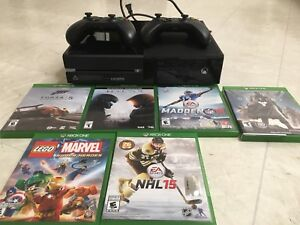 XBOX ONE , games and controllers