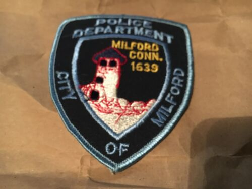 Milford Connecticut Police Patch NB