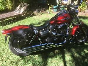 2009 Fatbob Dyna with extras Mooloolaba Maroochydore Area Preview