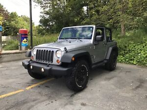 2013 Jeep Wrangler ONLY 12,400KMS!!!