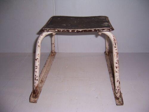 Vintage Metal Kitchen Utility Stool