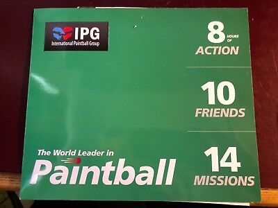 IPG Paintball MEGA Bundle. 20 Tickets, 2000 FREE Paintballs worth over £700.