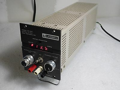 Lambda Lq-521 Regulated 0-20v Dc Power Supply Tq909