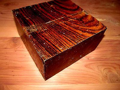 Beautiful Exotic Bocote Bowl Blanks Lathe Turning Block Lumber 6 X 6 X 3