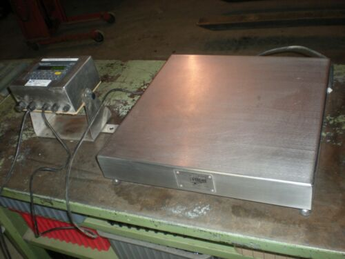 Weigh-Tronix BS-2020-A Bench Scale with WI-125 Readout - SS - 50Kg x 5grams