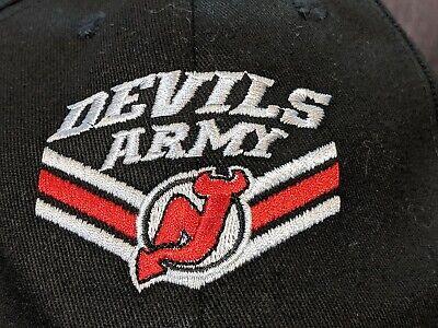 New Jersey Devils  Devils Army Hat NJ Devils NHL MSG+ Baseball -