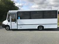2011 IVECO IRIS BUS DAILY 15 SEATER N2 BUS COACH 50C17 TAIL LIFT WHEEL CHAIR WAV