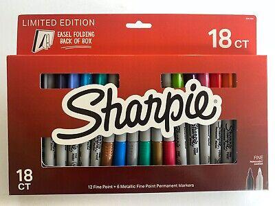 Sharpie 18ct Limited Edition 12 Fine Point 6 Metallic Fine Point Marker Set
