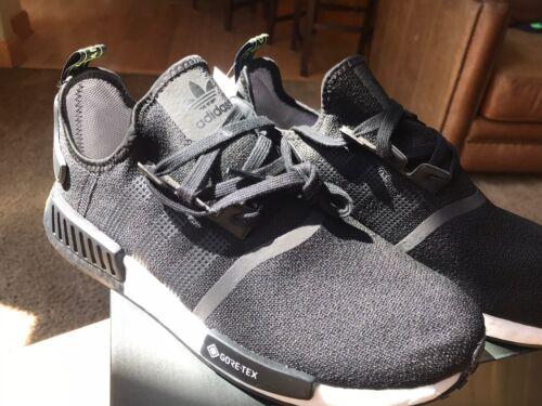 Adidas Men's NMD_R1 GTX Gore-Tex Shoes Black/White  Brand Ne