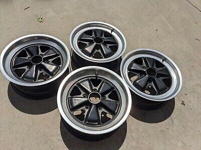 Porsche OEM FUCHS wheels 16x6 16x7 911 914 912