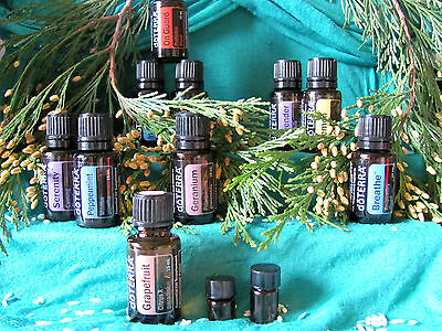 Doterra Essential Oil Samples  1Ml And 2Ml  Lowest Prices  Free Shipping