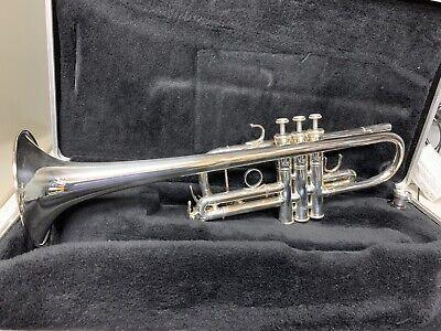 Yamaha YTR6445 HS Mark II Silver Plate .462 Bell Trumpet