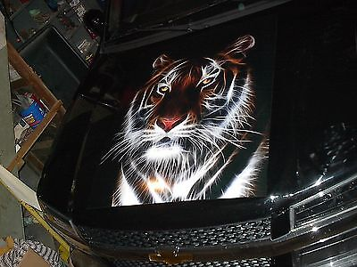 TIGER #3 RV Trailer or Wall Mural FULL COLOR Decal Decals Graphics Sticker Art