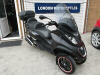 Piaggio MP3 500 Sport ABS / ASR 2014, ONLY 1,700 MIles, Car licence OK