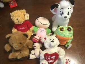 Stuffed toys. Give away. Taigum Brisbane North East Preview