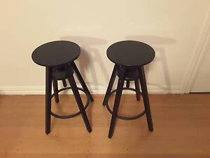 2 IKEA stools as new Carnegie Glen Eira Area Preview
