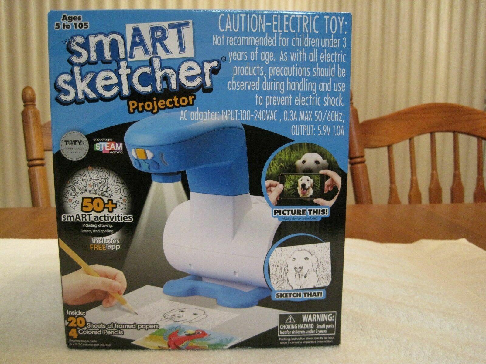 Smart Sketcher Draw Learn Sketch Creative Learning Drawing Kids Projector  Art