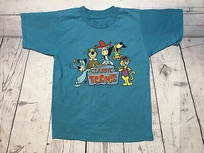 Used, Vintage Cartoon Network T Shirt Boys Large Classic Toons 2000 Yogi Vtg 90s Shows for sale  Litchfield Park