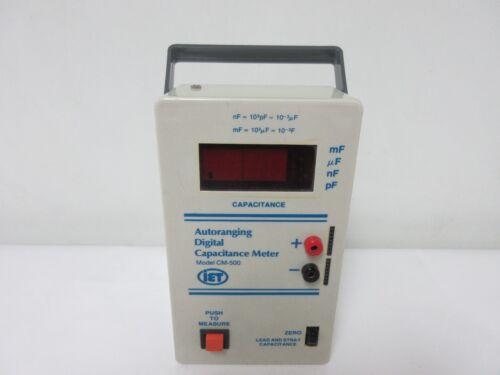 IET Labs CM-500 Autoranging Digital Capacitance Meter