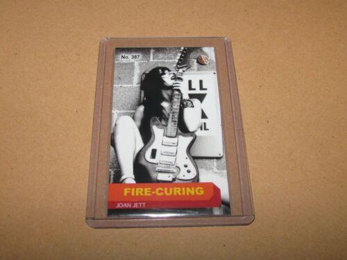 JOAN JETT RARE MILLHOUSE FIRE-CURING TOBACCO CARD 3/3 #387