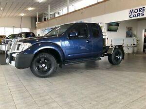 2010 Nissan Navara D40 ST-X Utility King Cab 4dr Auto 5sp 4x4 913kg 2.5DT