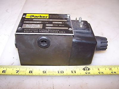 New Parker Directional Hydraulic Control Valve Model D3w4cnyp5  120 Volt