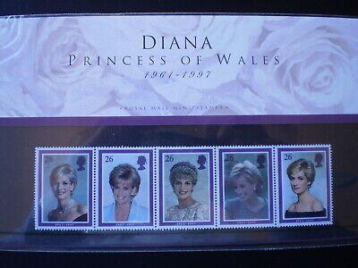 GB 1998 Lady Diana Presentation Pack