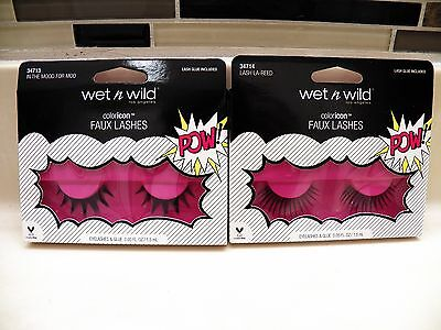 Wet N Wild ColorIcon Faux Lashes Limited Edition CHOOSE ONE Halloween