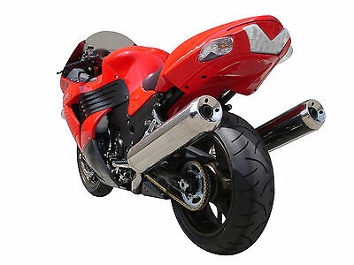12-16 Kawasaki ZX14R Undertail Factory Color Matched Passion Red