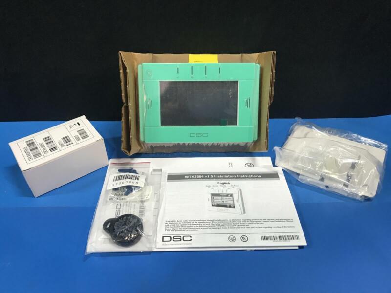 DSC WTK5504 PD 2-Way Wireless TouchScreen Arming Station