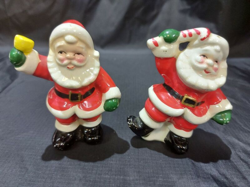 Vintage Collection Salt and Pepper Shakers Santa Clause