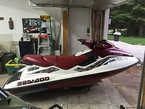 1998 Sea Doo GTX Limited 3 Seater With Reverse