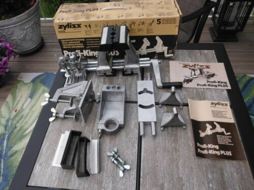 Zyliss Profi-King Plus Switzerland 50105 Hobby Vise Clamp System with Manual Box