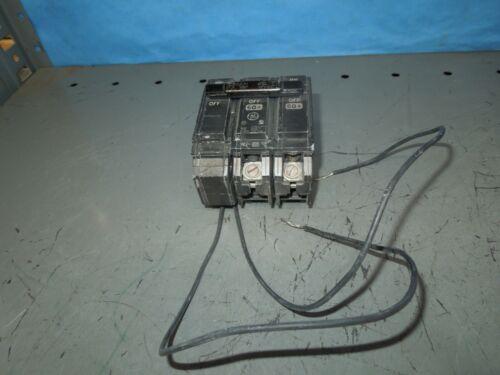 Ge Thqb360tqsta1 60a 3p 240v Shunt Trip Device Used
