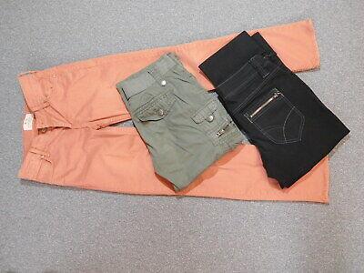 Damenbekleidungspaket /Hosen 3Stk. Gr.34/36 alles Marken