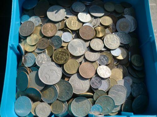 1,5 KILOS of Portuguese coins Escudos - Pré Euro -  JOB LOT