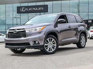 2015 Toyota Highlander XLE XLE/AWD/CAMERA/ROOF/VERY LOW KMS!