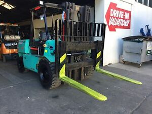Hyster 4.5 ton 4.3 mt 3 stage container mast with side shift Lidcombe Auburn Area Preview
