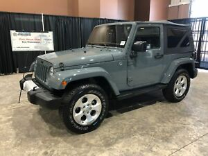 2015 Jeep Wrangler Sahara, manual trans, cloth seats, blue tooth