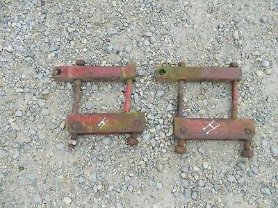 Farmall H M Mta 400 350 460 Tractor Pair Ih Ihc Drawbar Draw Bar Axle Brackets