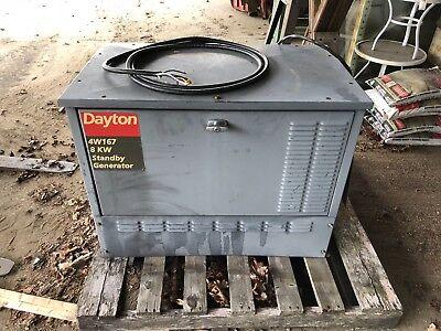 Dayton 8kw Propane Lp Backup Generator