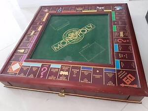 Monopoly collectors edition franklin mint Helensvale Gold Coast North Preview