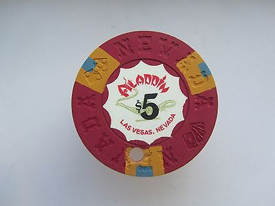 Aladdin Casino - Las Vegas , NV- OBSOLETE CASINO CHIP