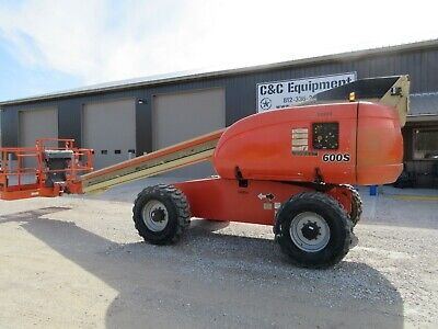 2007 Jlg 600s Man Boom Lift 60 Feet 4x4 Nice Shape Low Hours Genie